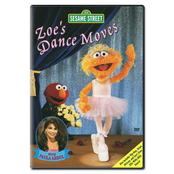Zoe's Dance Moves DVD