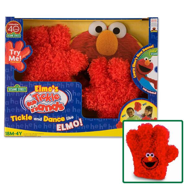 Elmo Tickle Hands