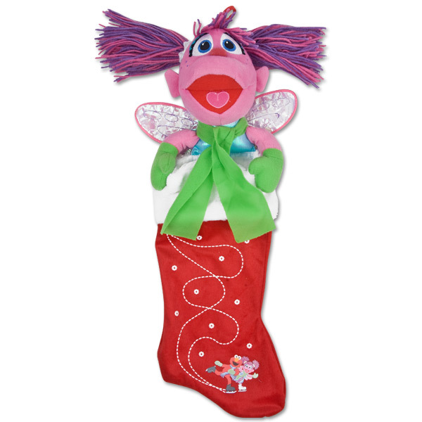 Abby Cadabby Ice Skating Stocking