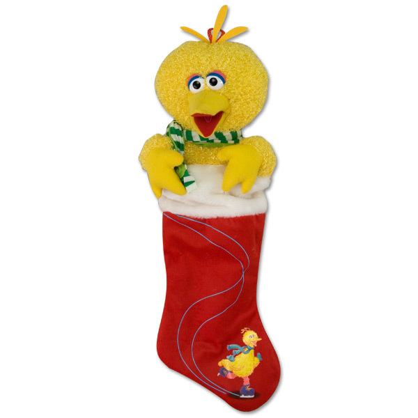 Big Bird Plush Stocking