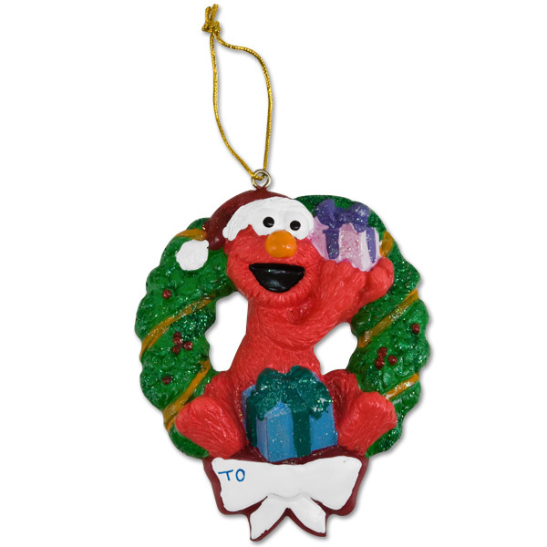 Elmo Wreath Ornament