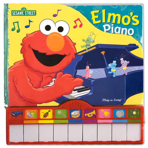 Elmo's Piano Book