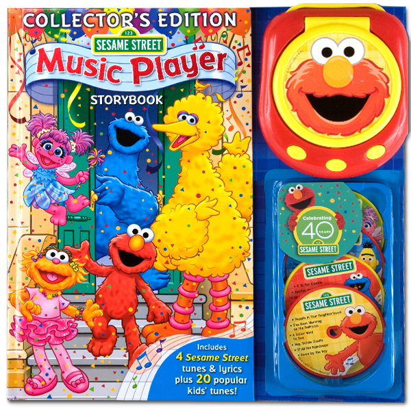 Sesame Street Music Player 40th Anniversary Book