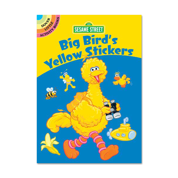 Big Bird's Yellow Sticker Book