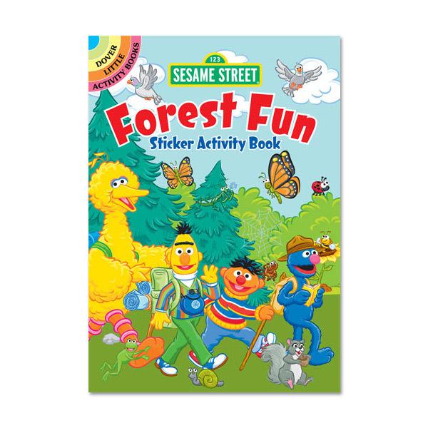 Sesame Street Forest Fun Sticker Activity Book