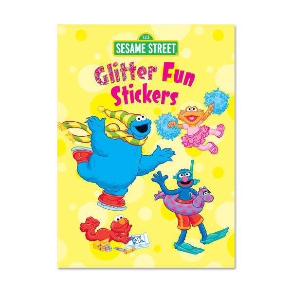 Sesame Street Glitter Fun Sticker Book