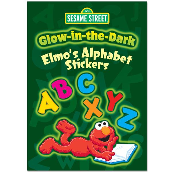 Glow-in-the-Dark Elmo's Alphabet Sticker Book