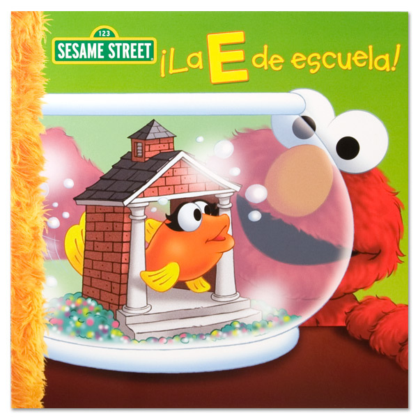 ¡La E De Escuela! Book