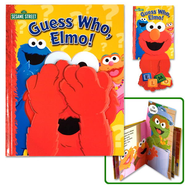 Sesame Street Guess Who, Elmo!