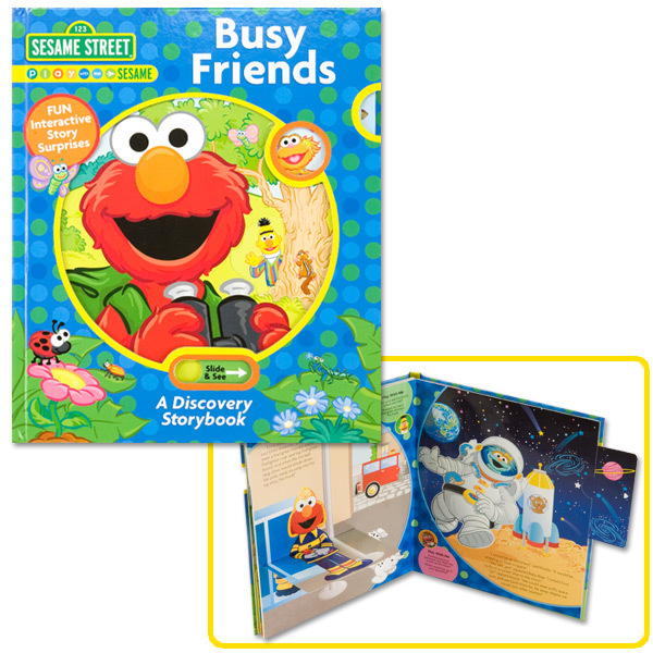 Sesame Street Busy Friends Book