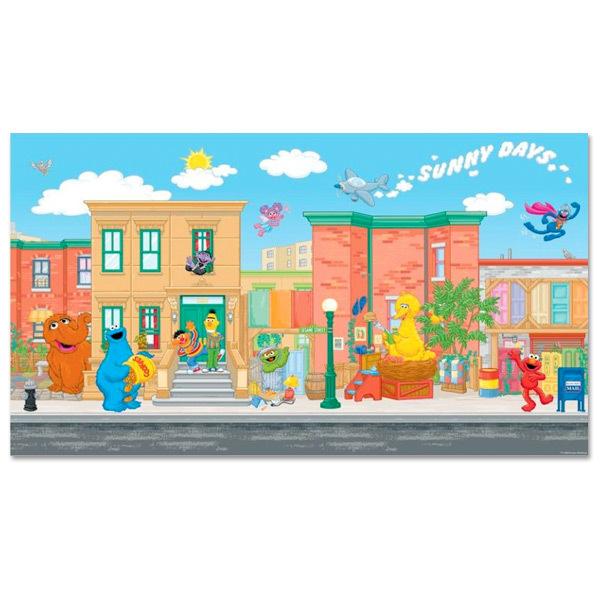 Sesame Street XL Wall Mural