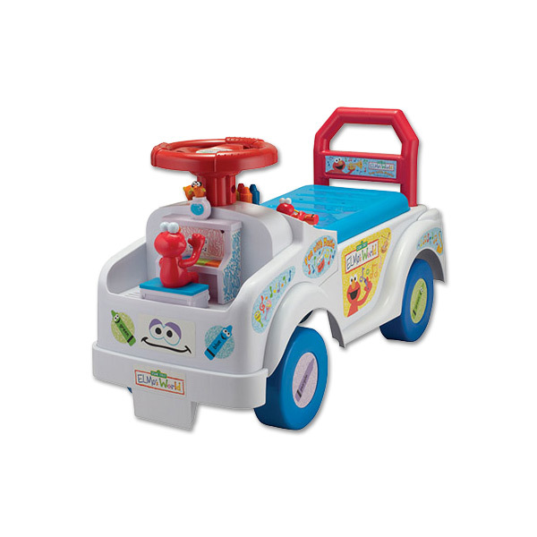 Elmo's World Fun with Music Ride on with Lights, sounds and activities