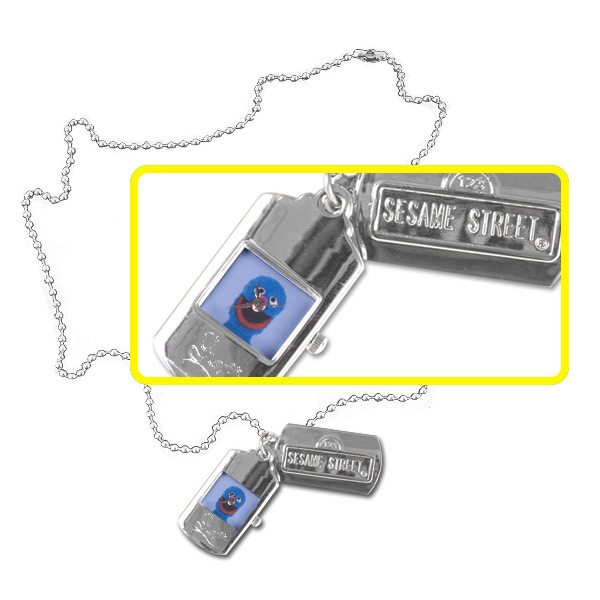 Grover Dog Tag Watch