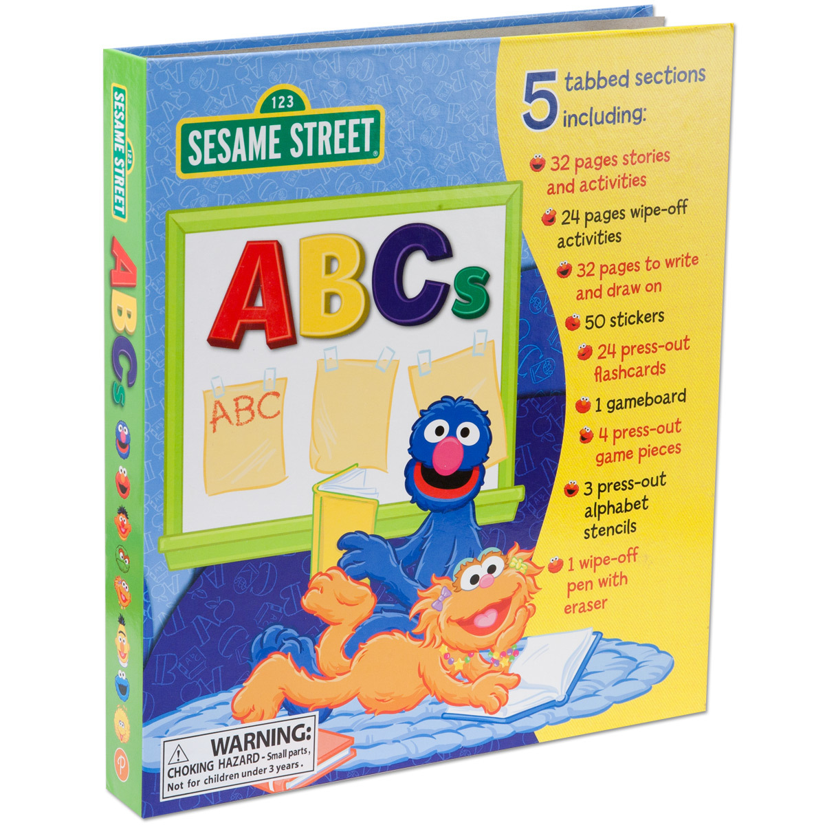 Sesame Street ABCs Activity Center Book