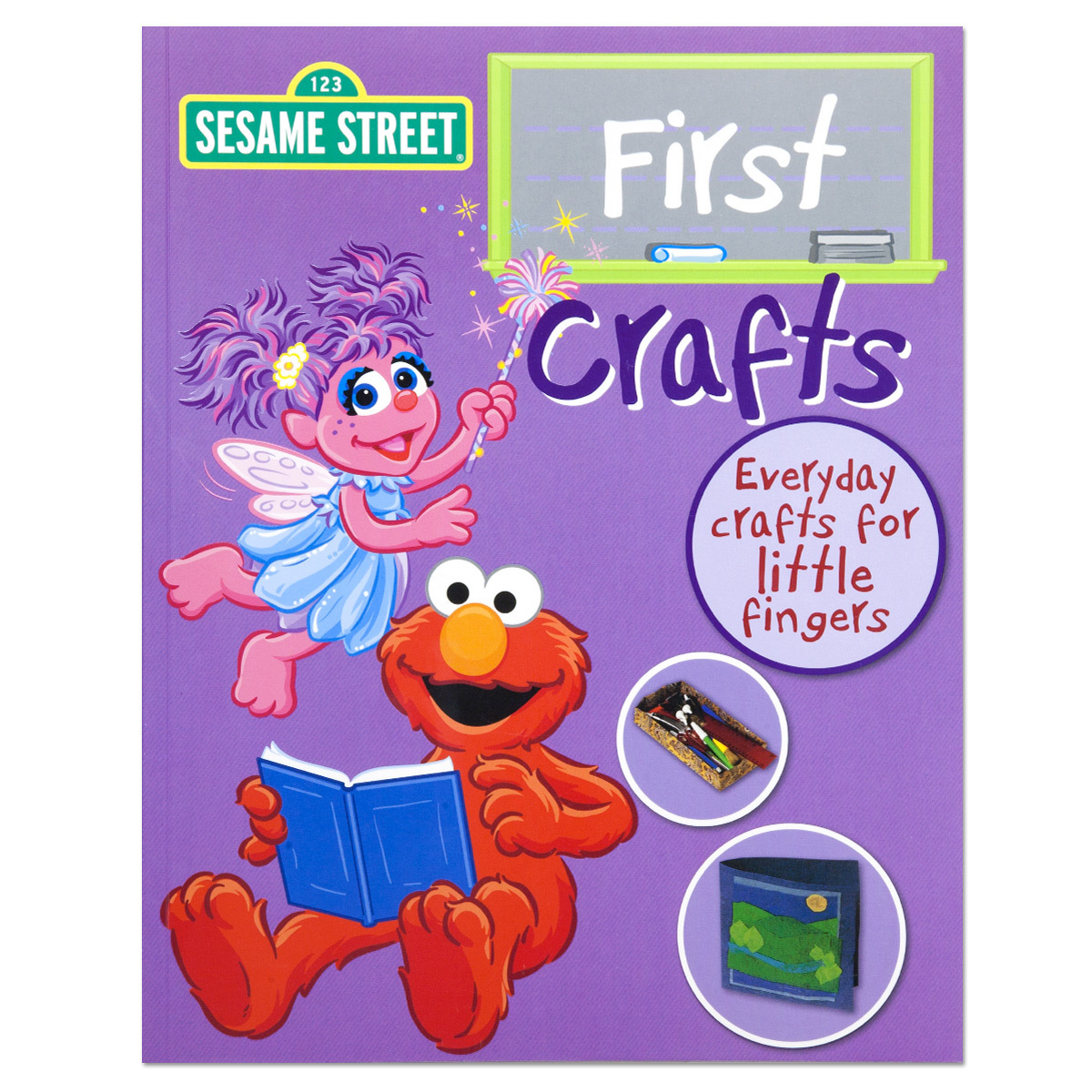 Sesame Street First Crafts Book
