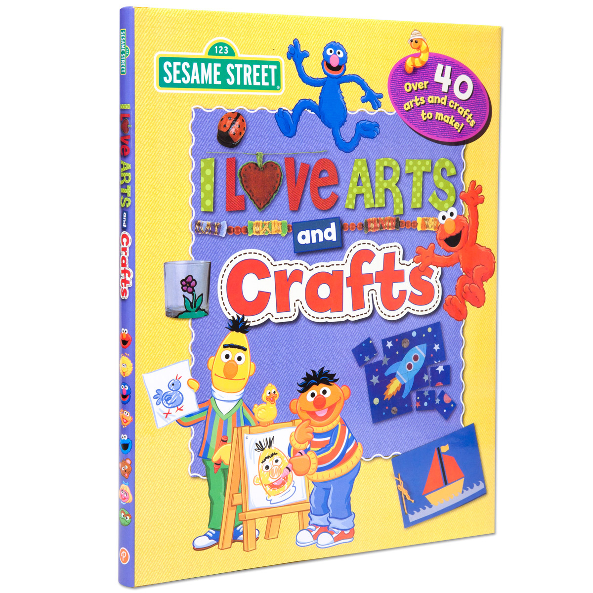 I Love Arts and Crafts Book