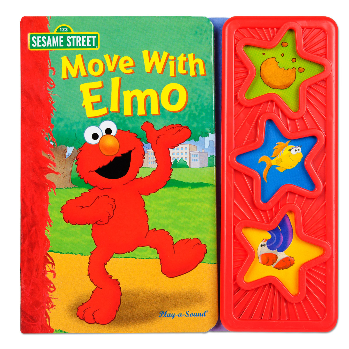 Move with Elmo 3 Button Sound Book