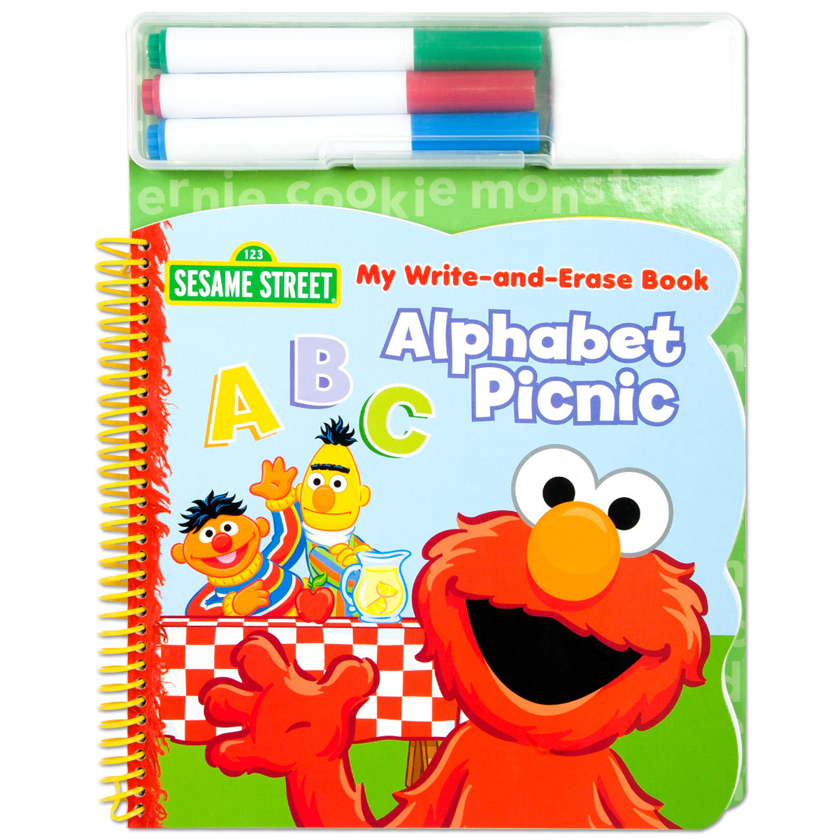 Elmo Write & Erase Alphabet ABC Book
