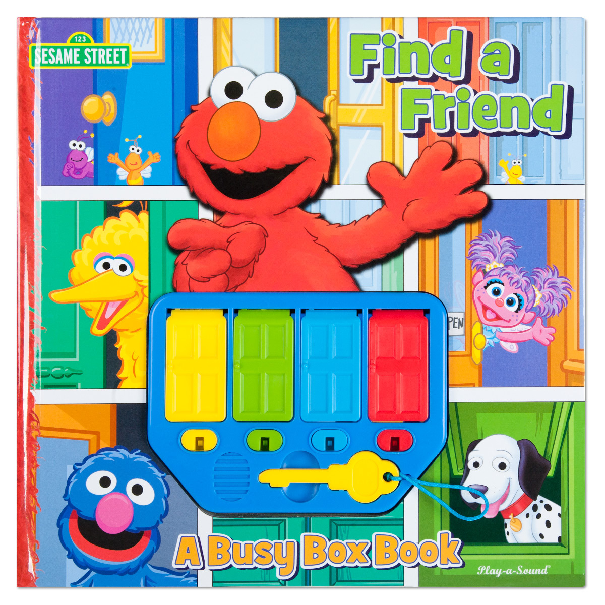 Elmo Find a Friend: A Busy Box Musical Book