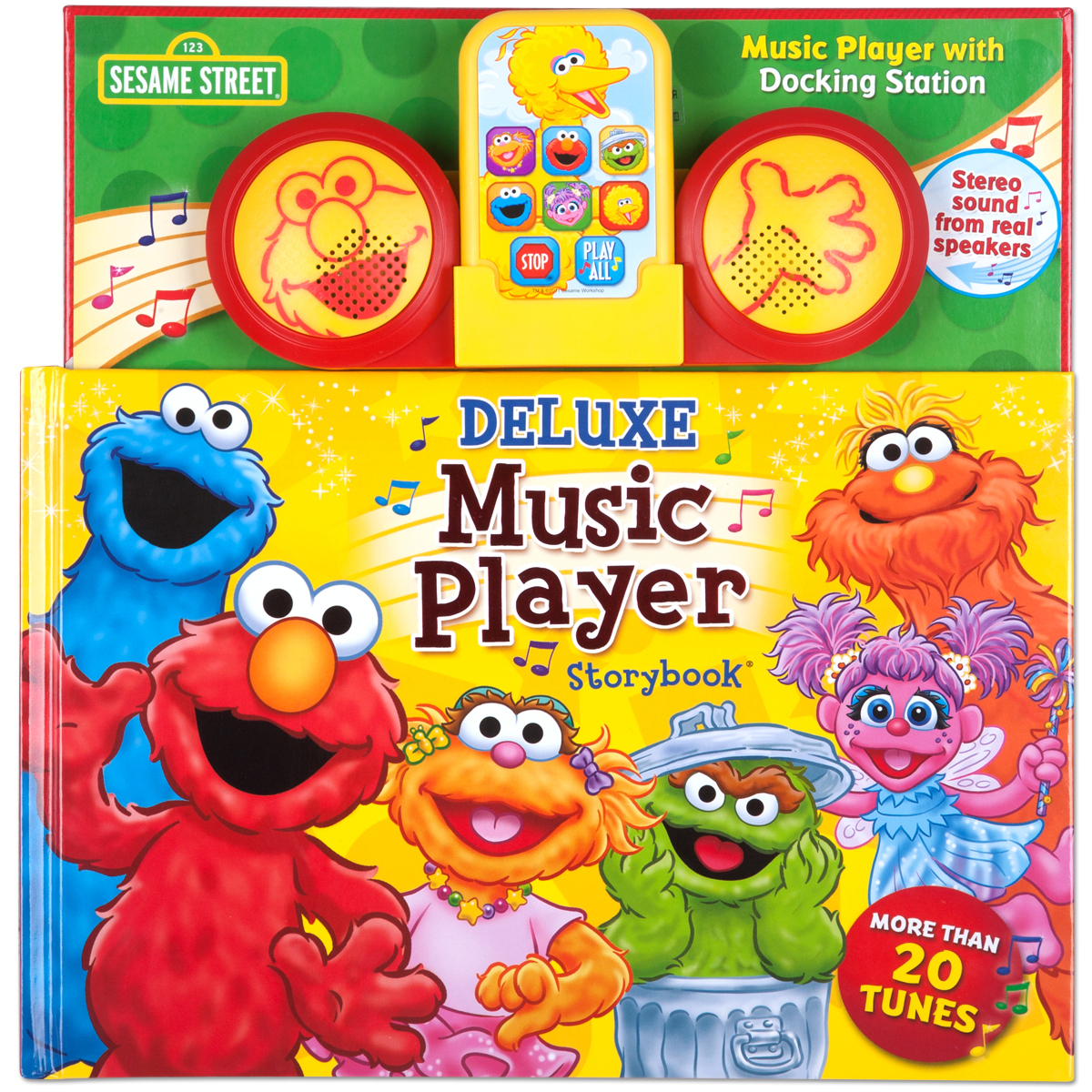 Deluxe Music Player Storybook