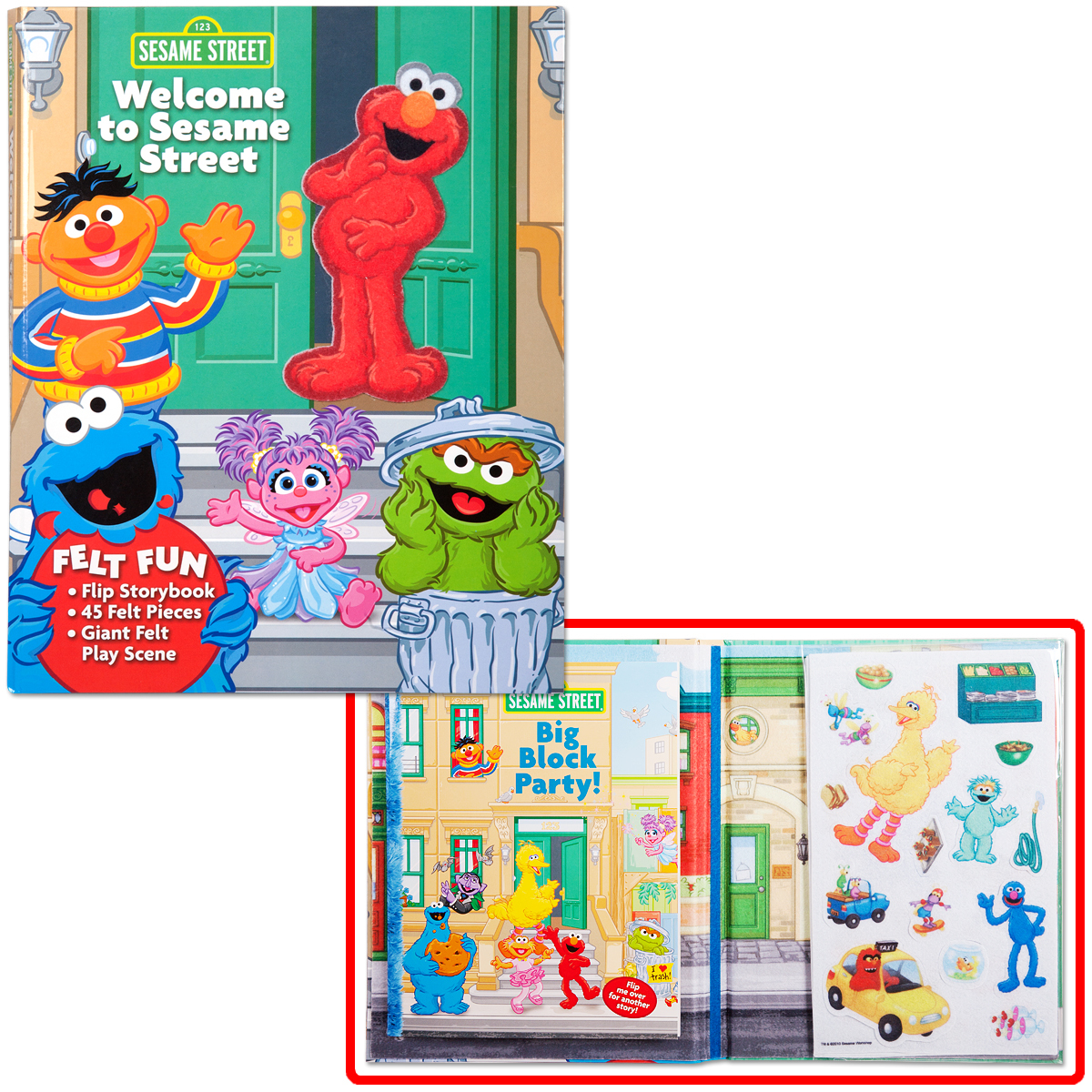 Welcome to Sesame Street Board Book