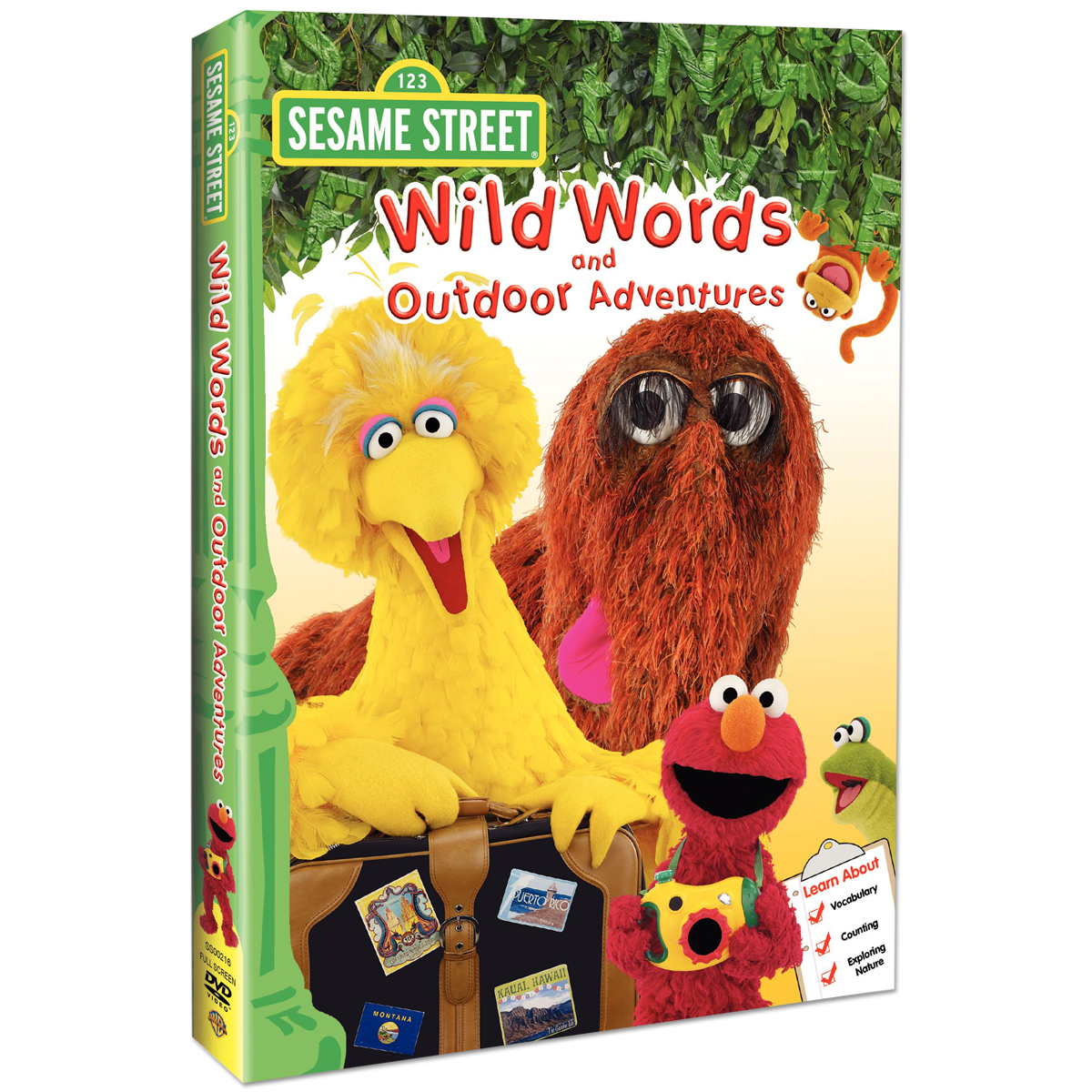 Wild Words & Outdoor Adventures DVD