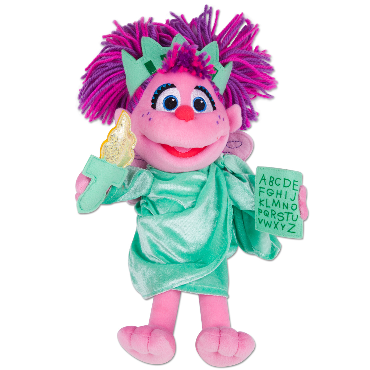 Abby Cadabby Statue of Liberty Plush