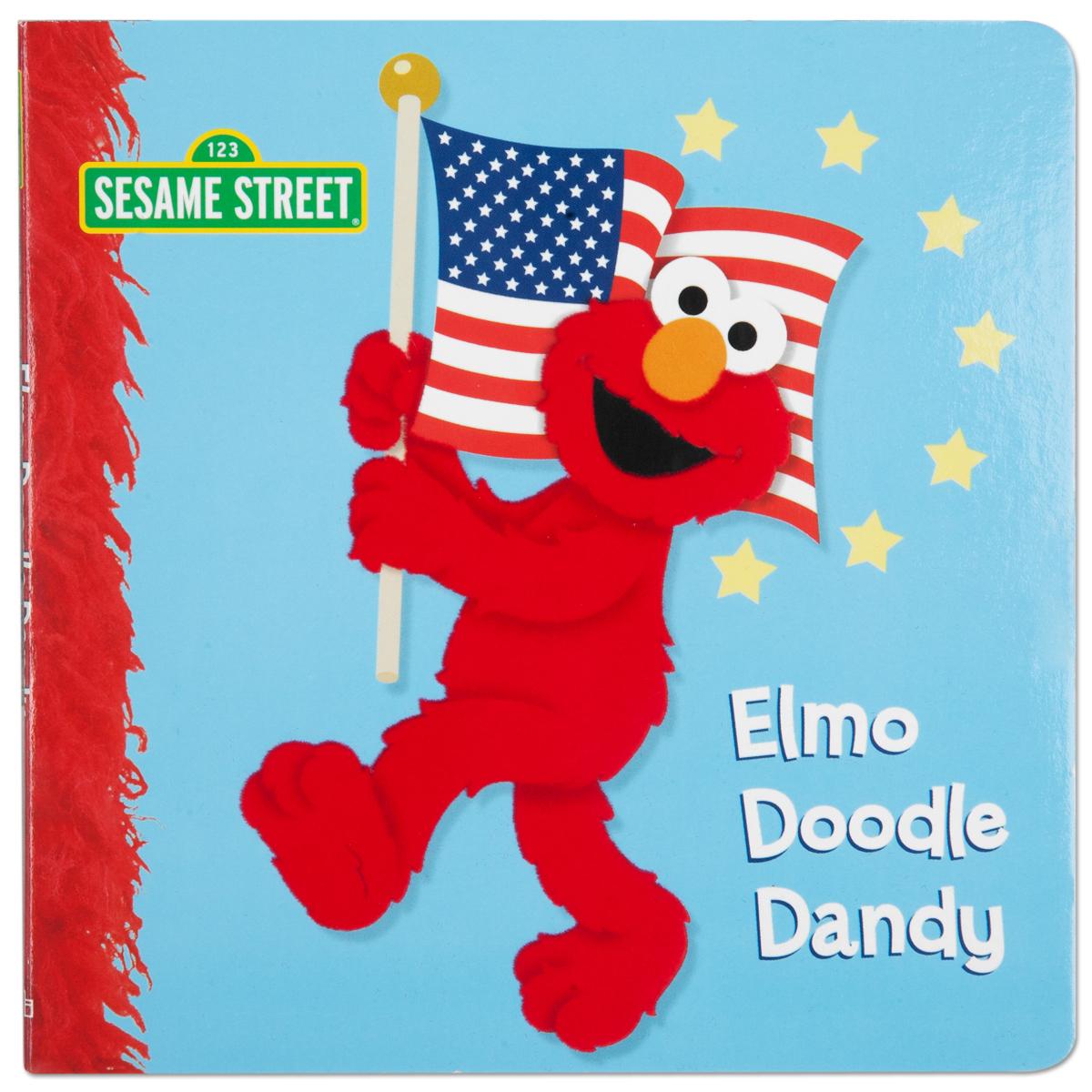 Elmo Doodle Dandy Book