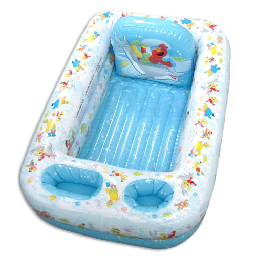 Sesame Street Inflatable Safety Bathtub