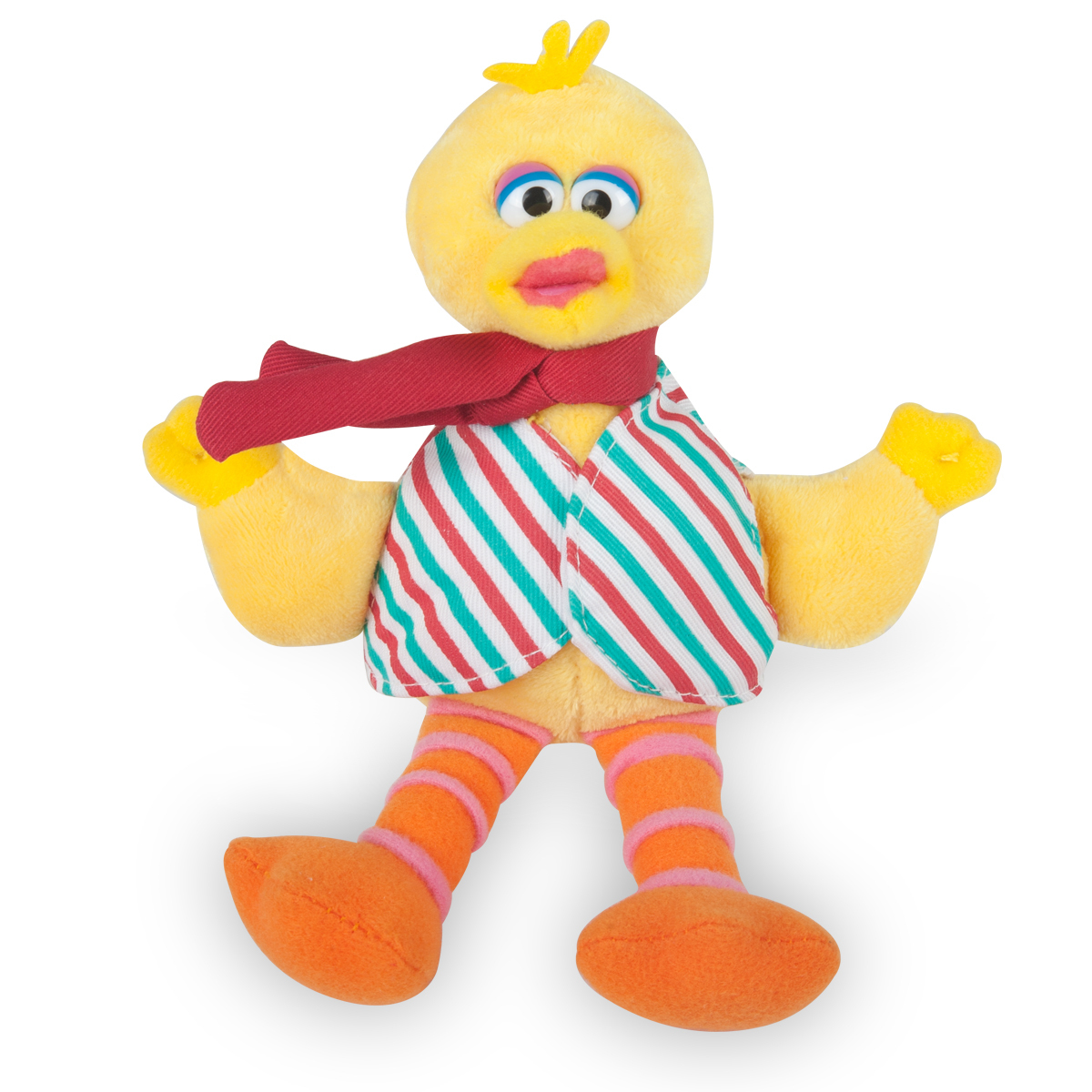 Big Bird Stripes Musical Holiday Plush