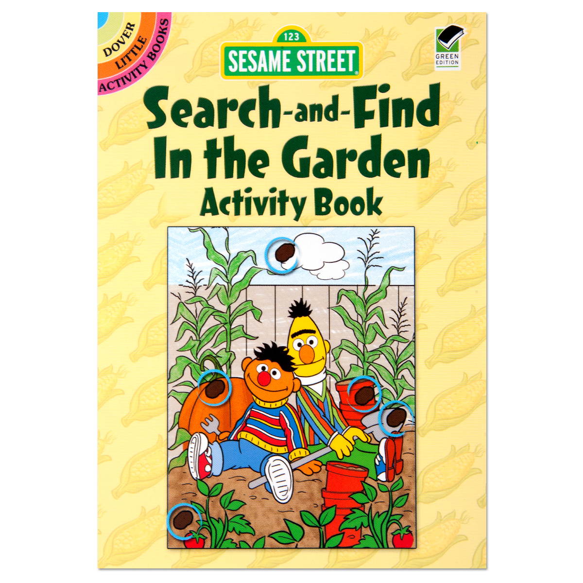 Sesame Street: Search-and-Find In the Garden Activity Book