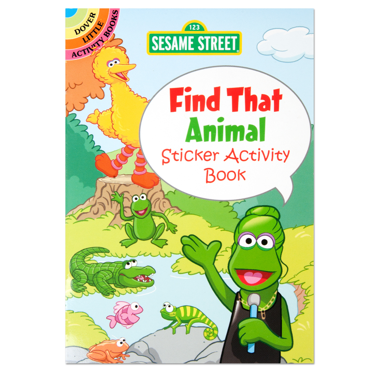 Sesame Street: Find That Animal Sticker Activity Book