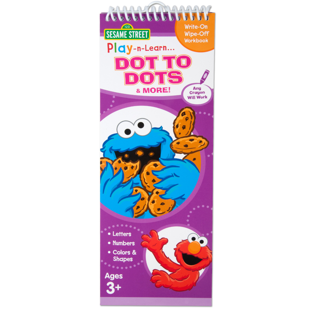Sesame Street Play and Learn Dot to Dots