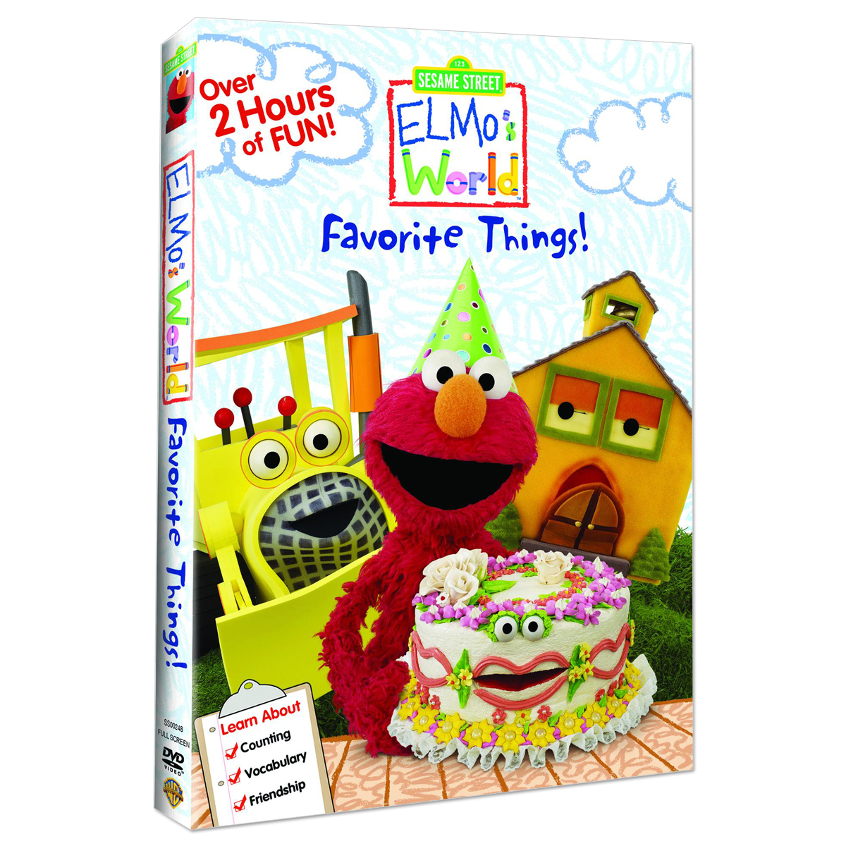 Elmos World: Favorite Things DVD