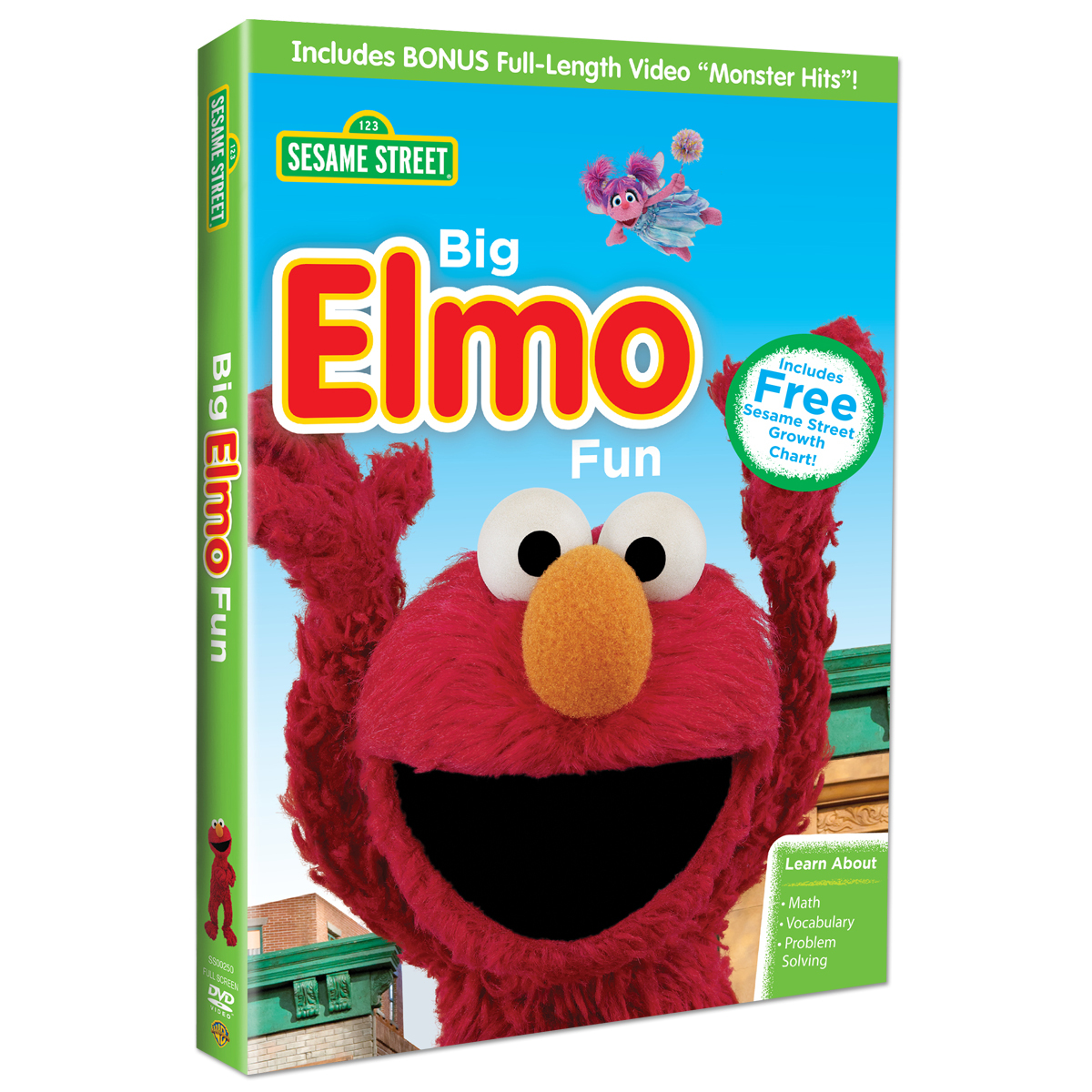 Sesame Street: Big Elmo Fun DVD