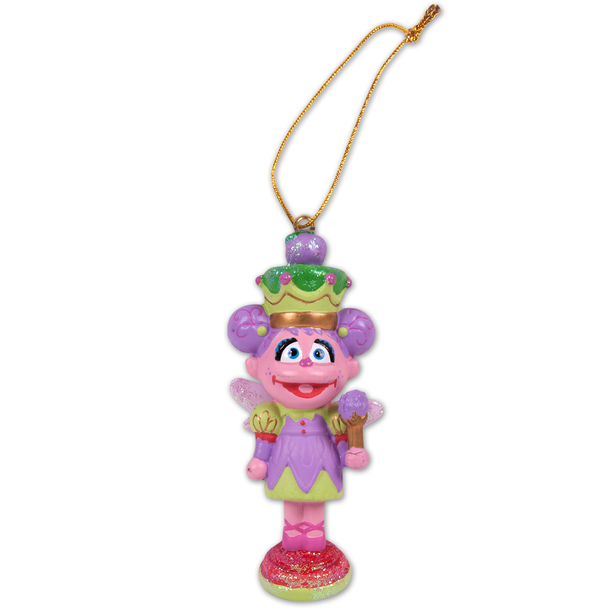 "Sesame Street 3.5"" Abby Nutcracker Ornament"