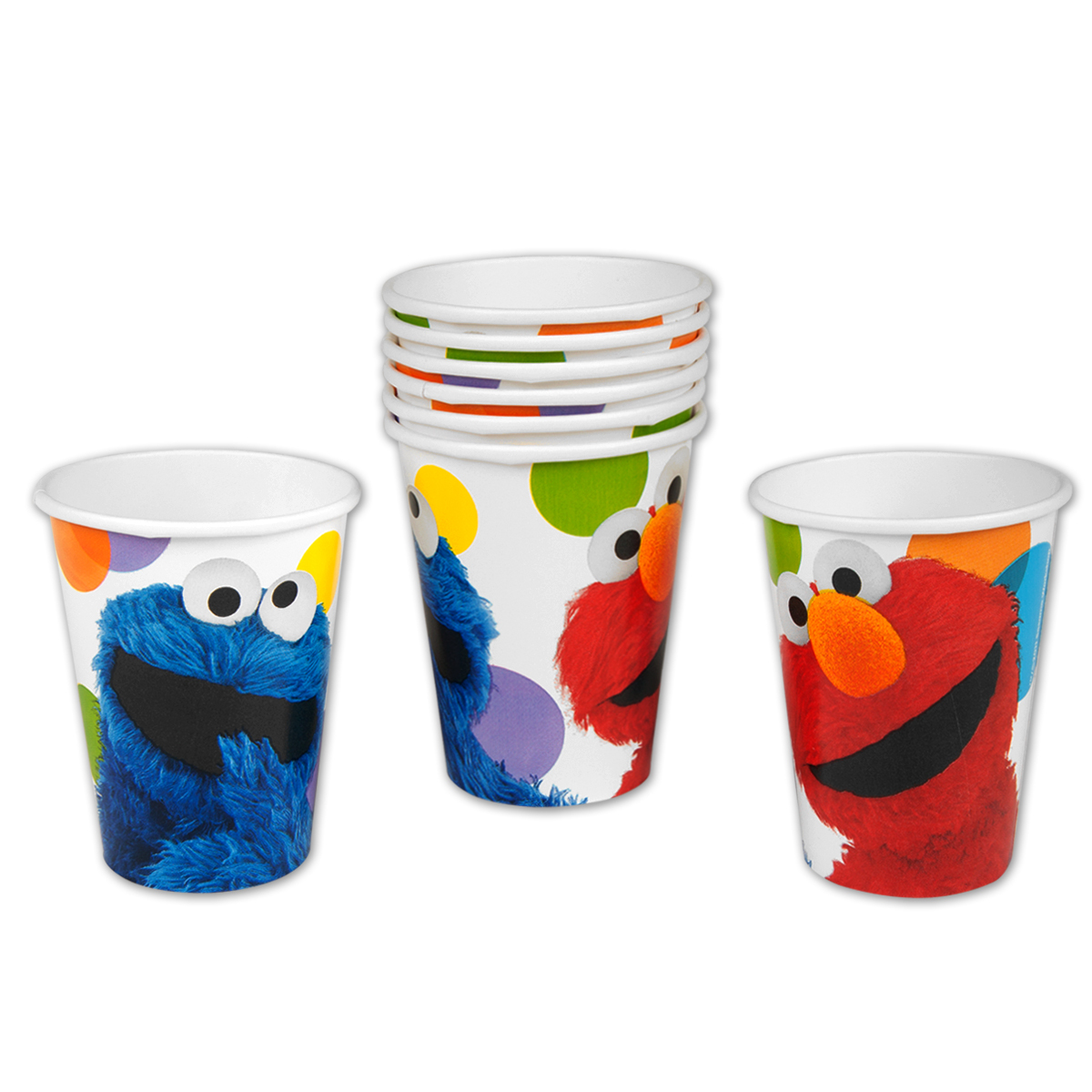 Elmos Party 9oz Hot/Cold Cups