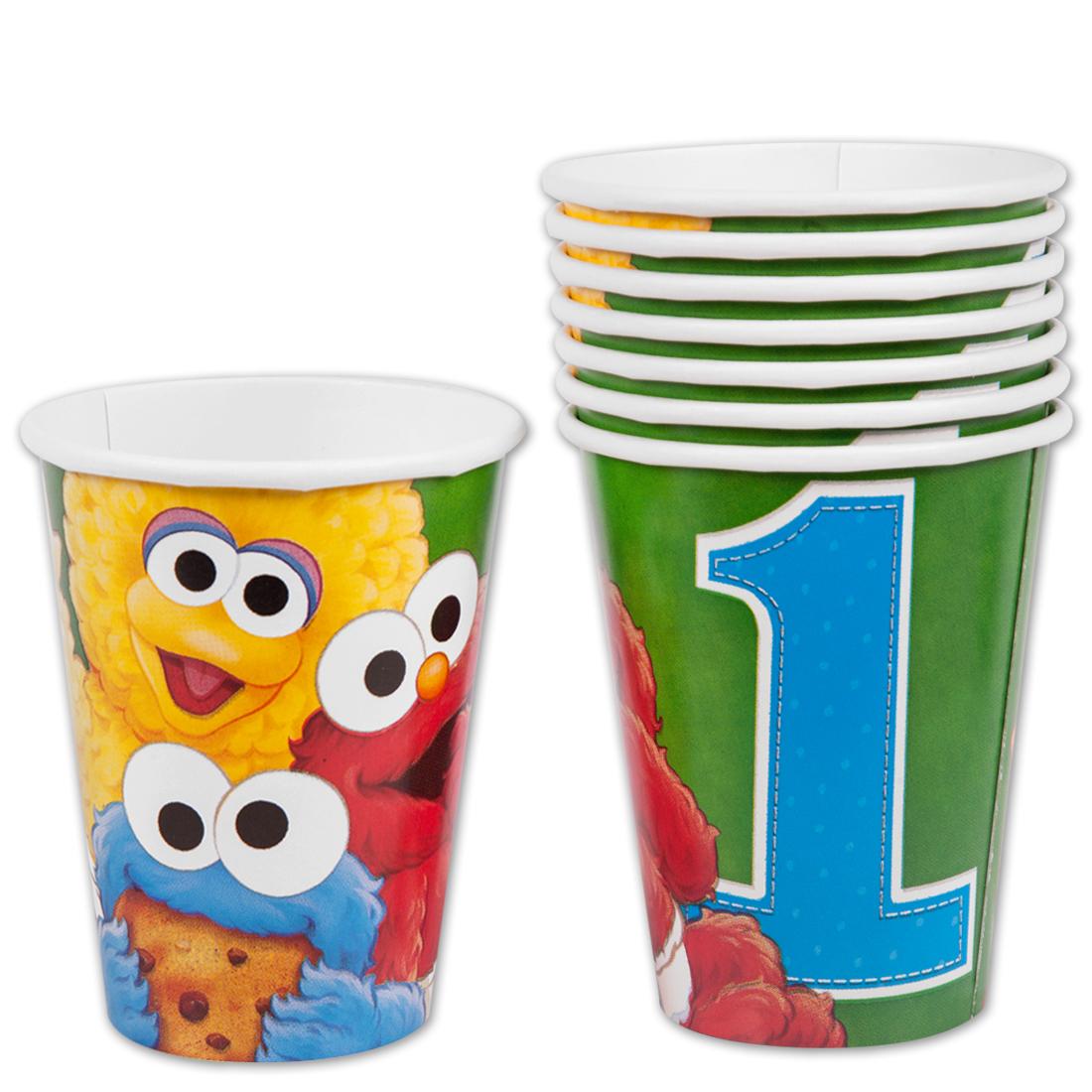 Sesame Street 1st Birthday 9oz Hot/Cold Cups