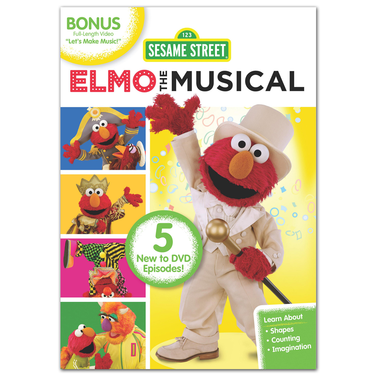 Sesame Street: Elmo the Musical DVD