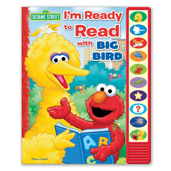 Sesame Street I'm Ready to Read with Big Bird Book