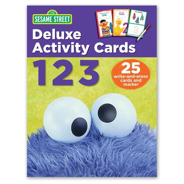 Sesame Street My First 123s Book