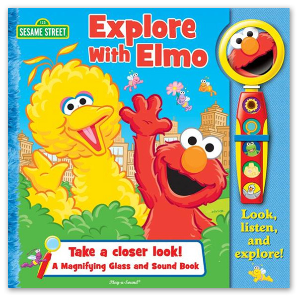 Sesame Street Explore With Elmo Book