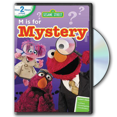 Sesame Street: M is for Mystery DVD
