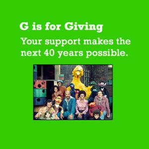 Sesame Street Donations