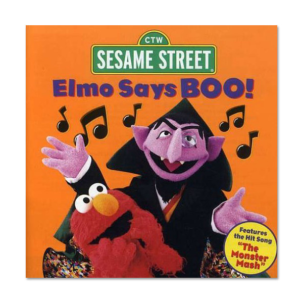 Elmo Says Boo CD