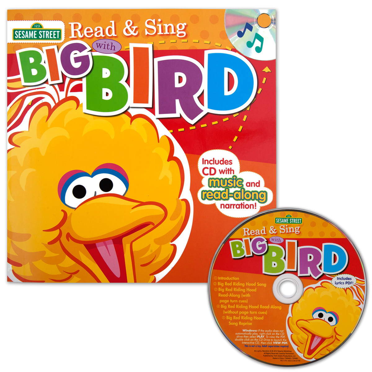 Sesame Street Read & Sing with Big Bird CD