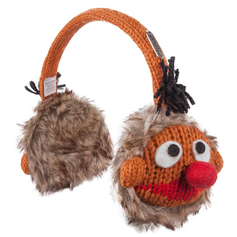 Sesame Street Ernie Knit Earmuffs