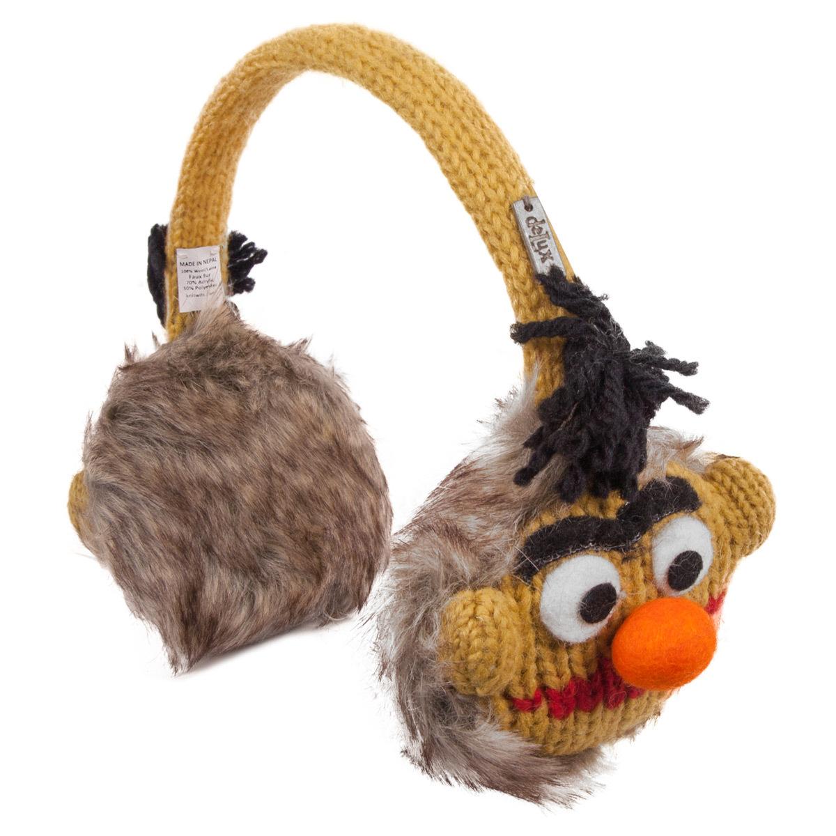 Sesame Street Bert Knit Earmuffs