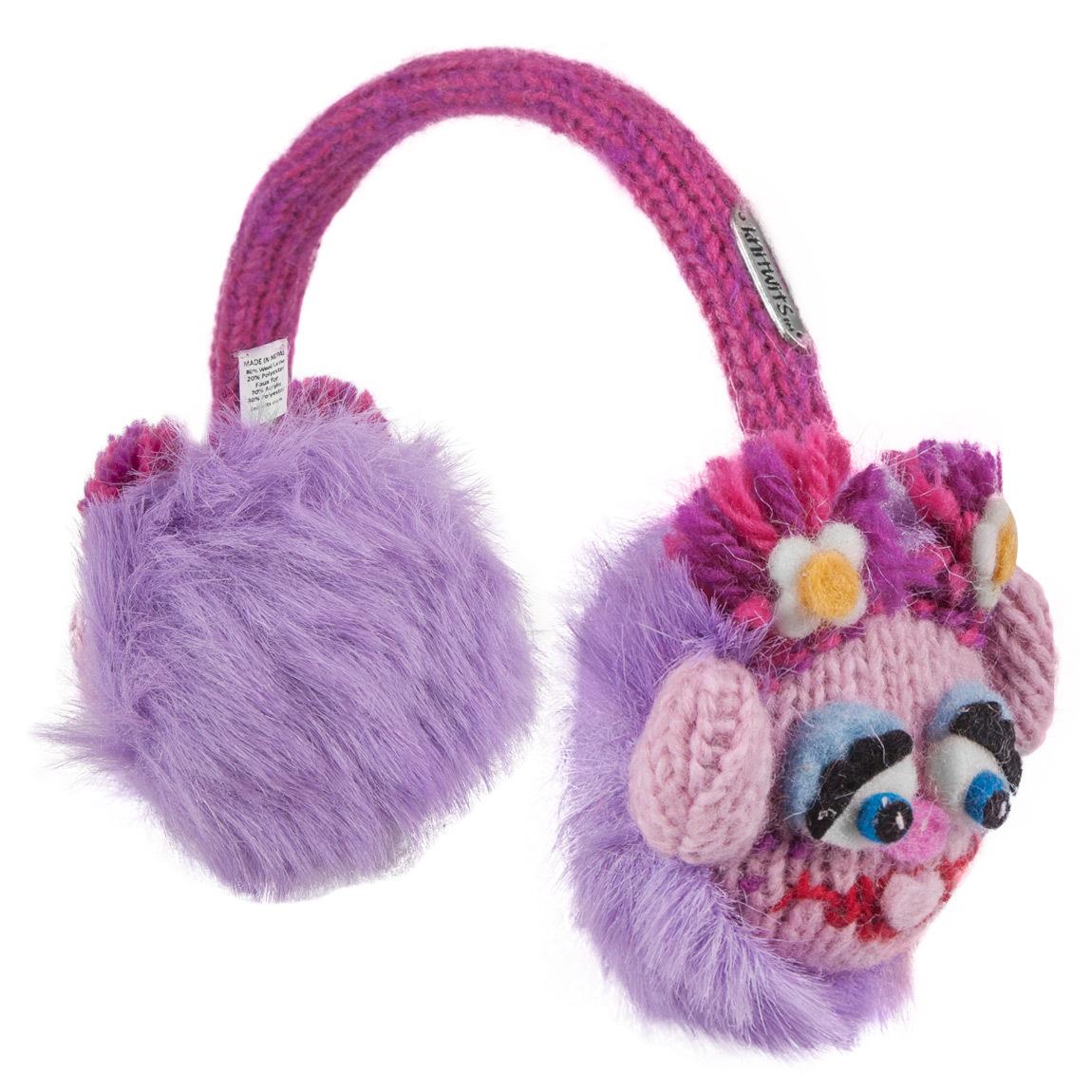 Sesame Street Abby Cadabby Knit Earmuffs