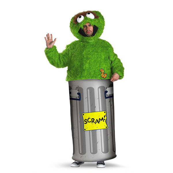 Oscar The Grouch Adult Costume